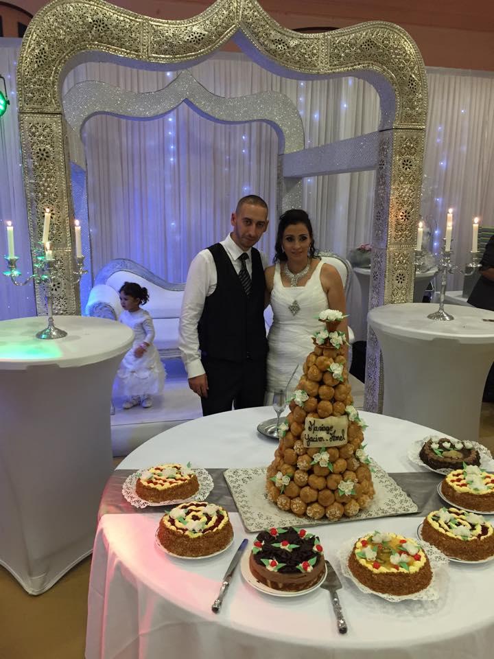 Mariage de Amel et Yacim, à Lesquielles St Germain