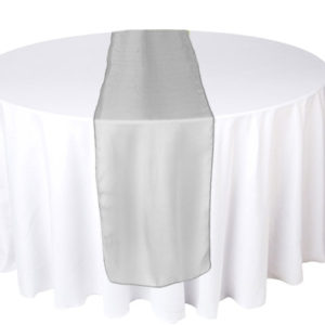 chemins de table en organza