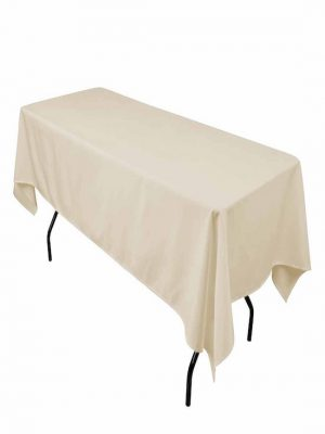 nappe rectangle ivoire