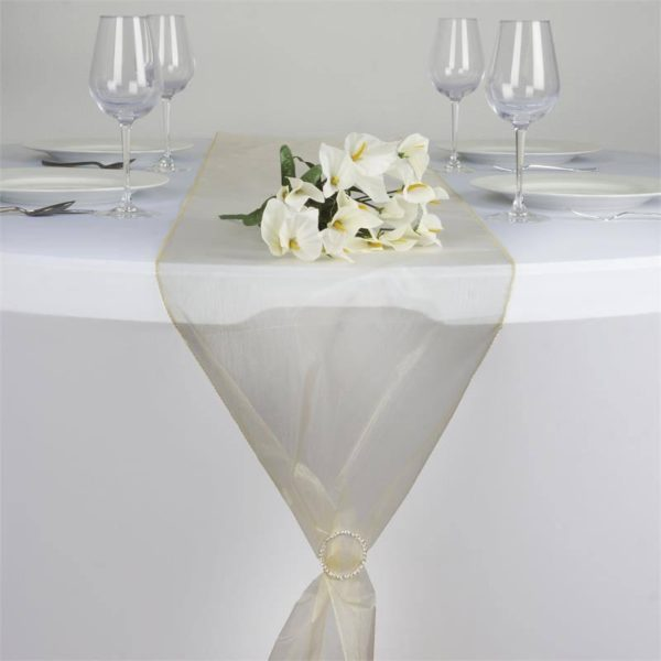 chemin-table-organza-champagne