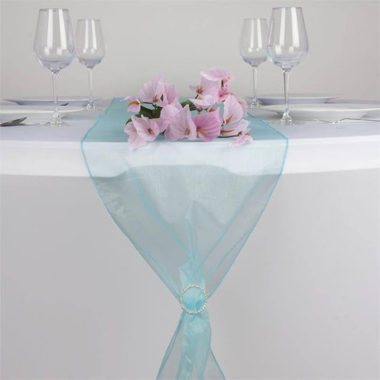 chemin-table-organza-turquoise