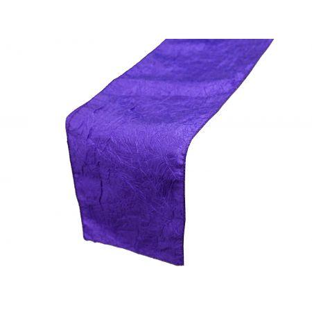 chemin-table-taffetas-violet